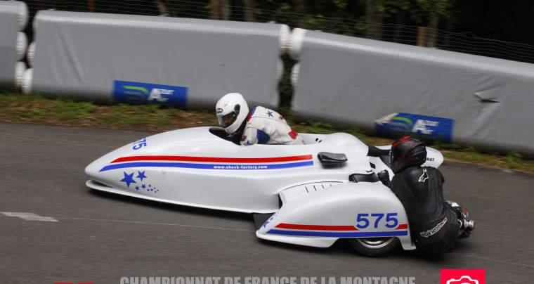 Team Side Car # 575, course de côte de Marchaux, 15 et 16 juin