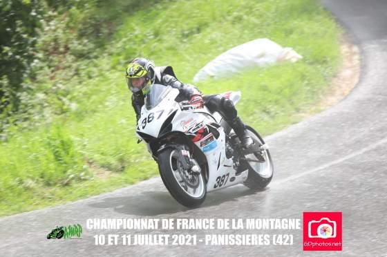 Course de côte de Panissières, 10 et 11 Juillet, Antonio ROMEO