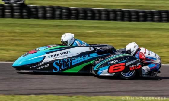 Emmanuelle Clement, 1ère manche du Superbike Anglais, les 7 et 8 août 2021