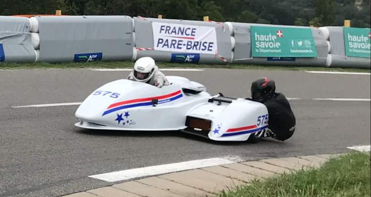 Team Side Car # 575, course de côte de Frangy, titre de vice champion en catégorie Side Car, Finale du Championnat de France de la montagne, 31 août et 1er sept 2019