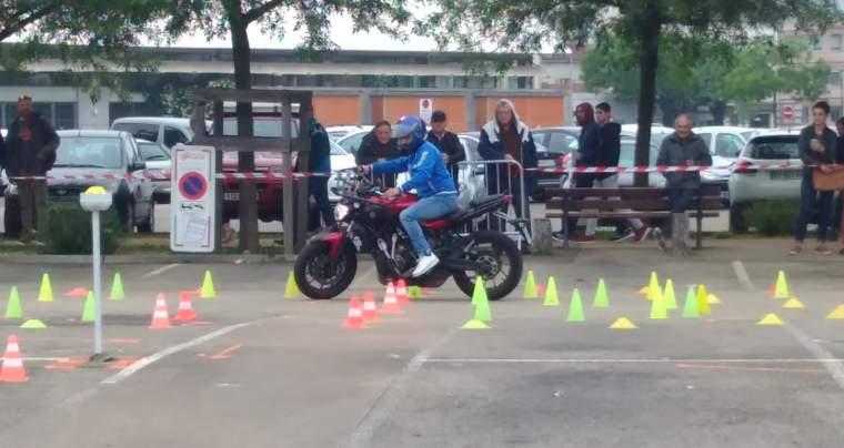 Certificat d'aptitude au sport motocycliste, samedi 1er Février 2020 à Bourg-en-Bresse