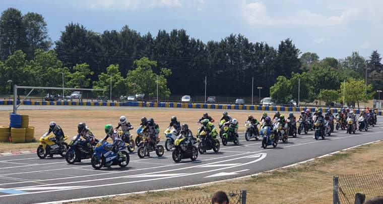 Manche N°1 du championnat de 25 Power, Varenne sur Allier les 8 et 9 août 2020