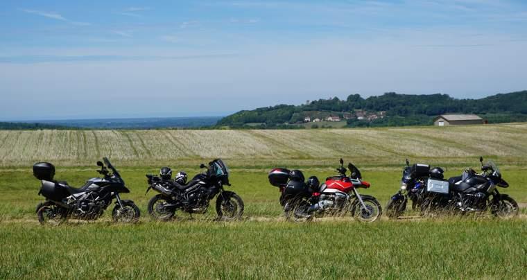 Journée ballade moto de l'UMAin, samedi 28 juillet 2018