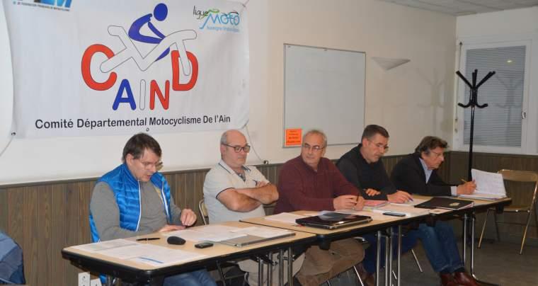 Vendredi 7 Février 2020, AG du CMD01, à Bourg-en-Bresse