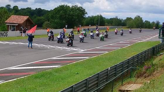 Louis PECHOUX, 3ème manche du championnat de France VMA Superbike 750/1100, à PAU  les 31 juillet et 1er Aout 2021