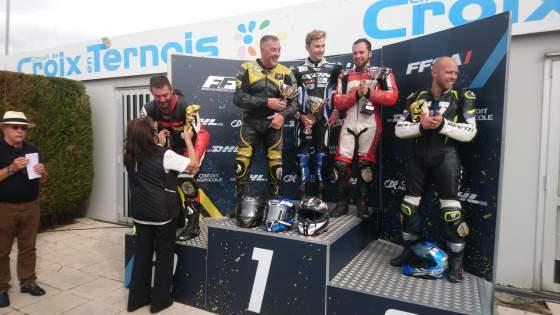 Louis Pechoux, CROIX en TERNOIS, championnat de France VMA Superbike les 18 et 19 septembre 2021