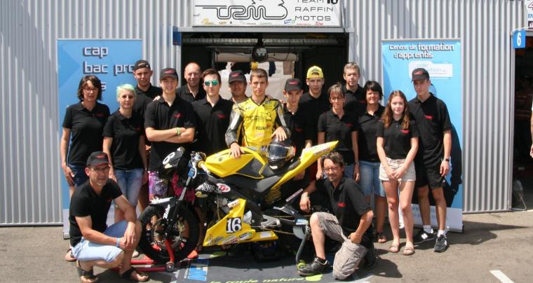 Team Raffin Moto : Vice Champion de France Endurance 25 Power Catégorie 1 en 2017, nouvelle saison 2018, nouveau challenge