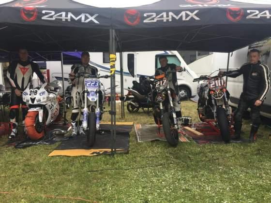 Ouverture du championnat de France de la montagne pour le Team MB Racing  les 4 et 5 Mai derniers, à Franclens, en Haute Savoie.