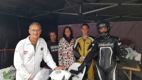 Moto Championnat de France 25 Power à Alès 13 et 14 octobre 2018