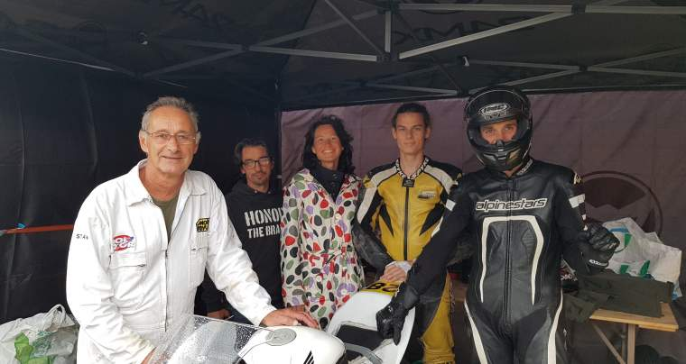 Moto Championnat de France 25 Power à Alès 13 et 14 octobre 2018