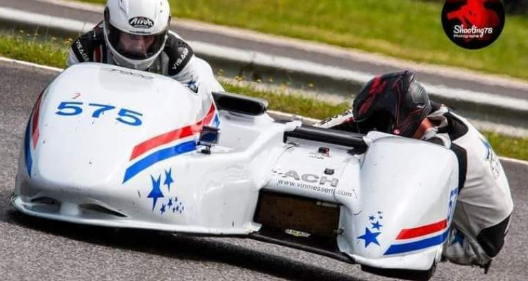 Coupe de France Promosport, Side-Car Morel-Piret, 26 et 27 Juin à Nogaro
