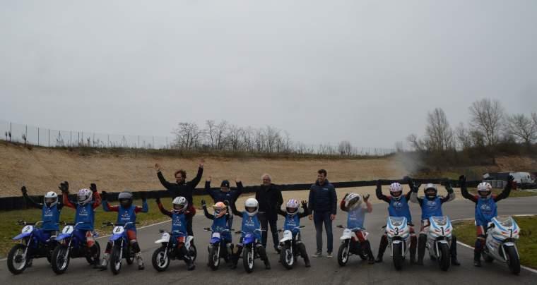 École d'initiation moto itinérante dans l'Ain