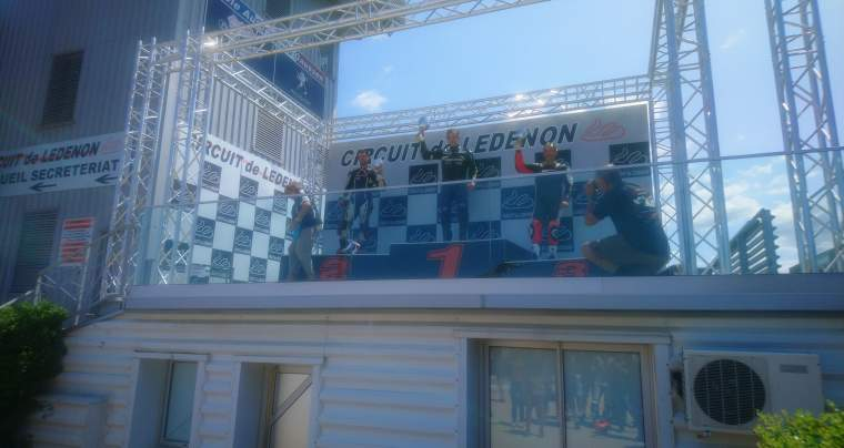6<sup>e</sup> manche du championnat de France VMA Superbike 750/1100, Ledenon, 27 et 28 juillet 2019.