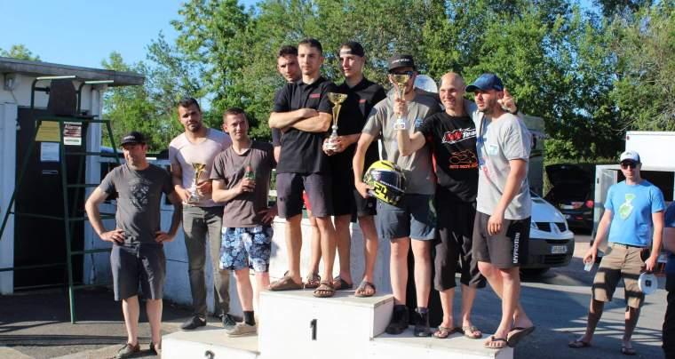 Team Raffin Moto, 25 power, 5 <sup>e</sup> manche du Championnat de France, 1 et 2 juin, Le Creusot