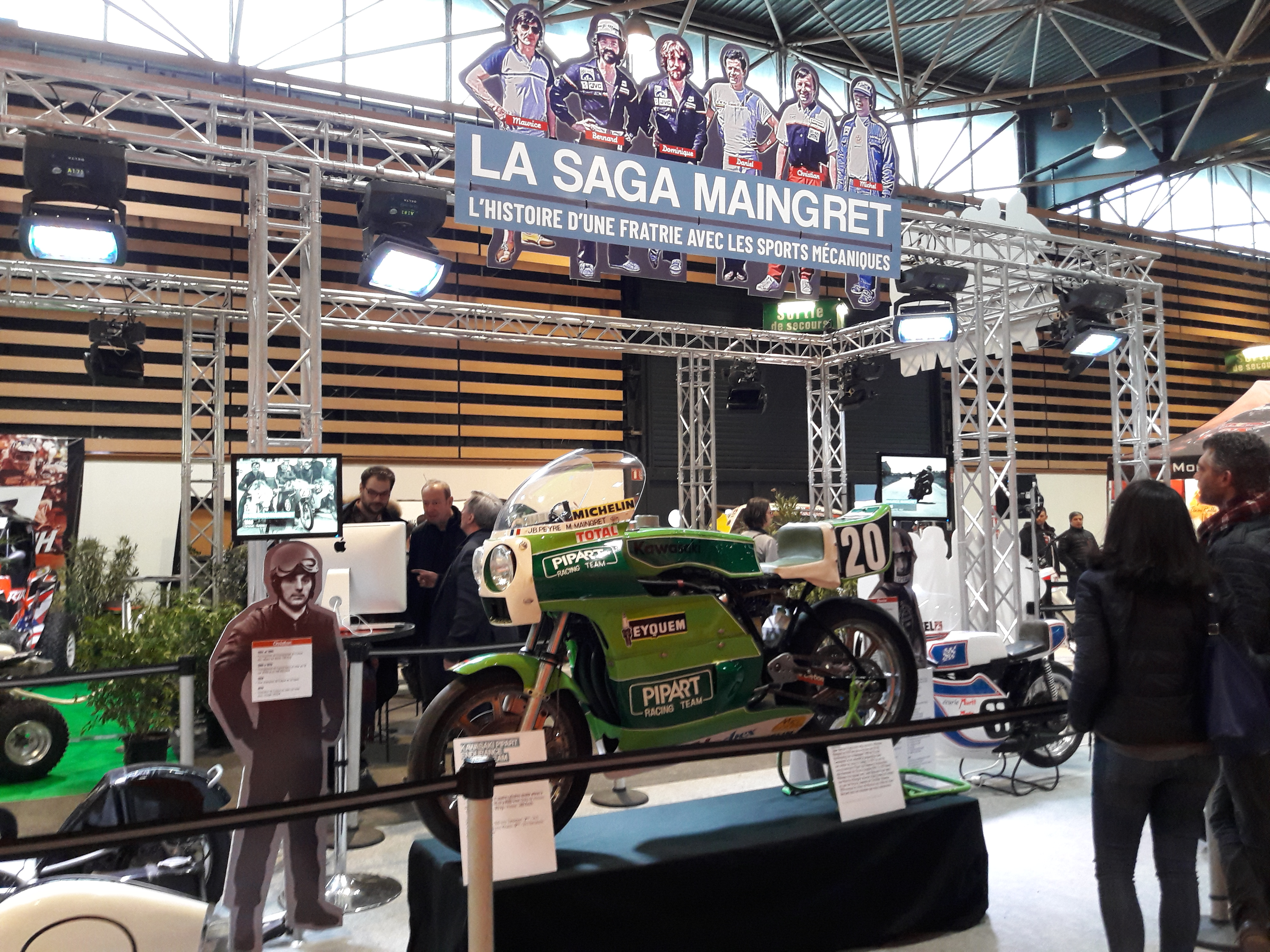 25<sup>e</sup> Salon de la moto, Lyon 2,3,4 Mars 2018