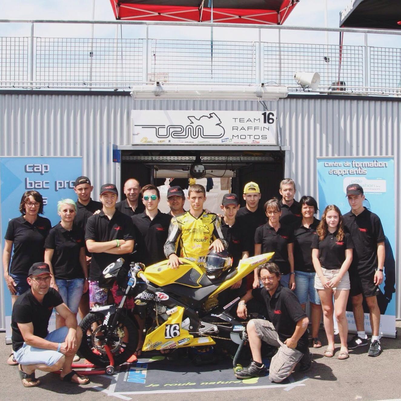Début de saison pour le Team Raffin Moto # 16 Championnat d'Endurance 25 power