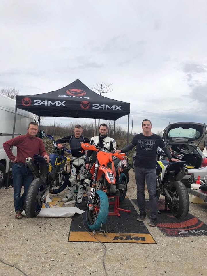 Préparation à la saison 2018 sur le circuit du Jura : une journée entre copains
