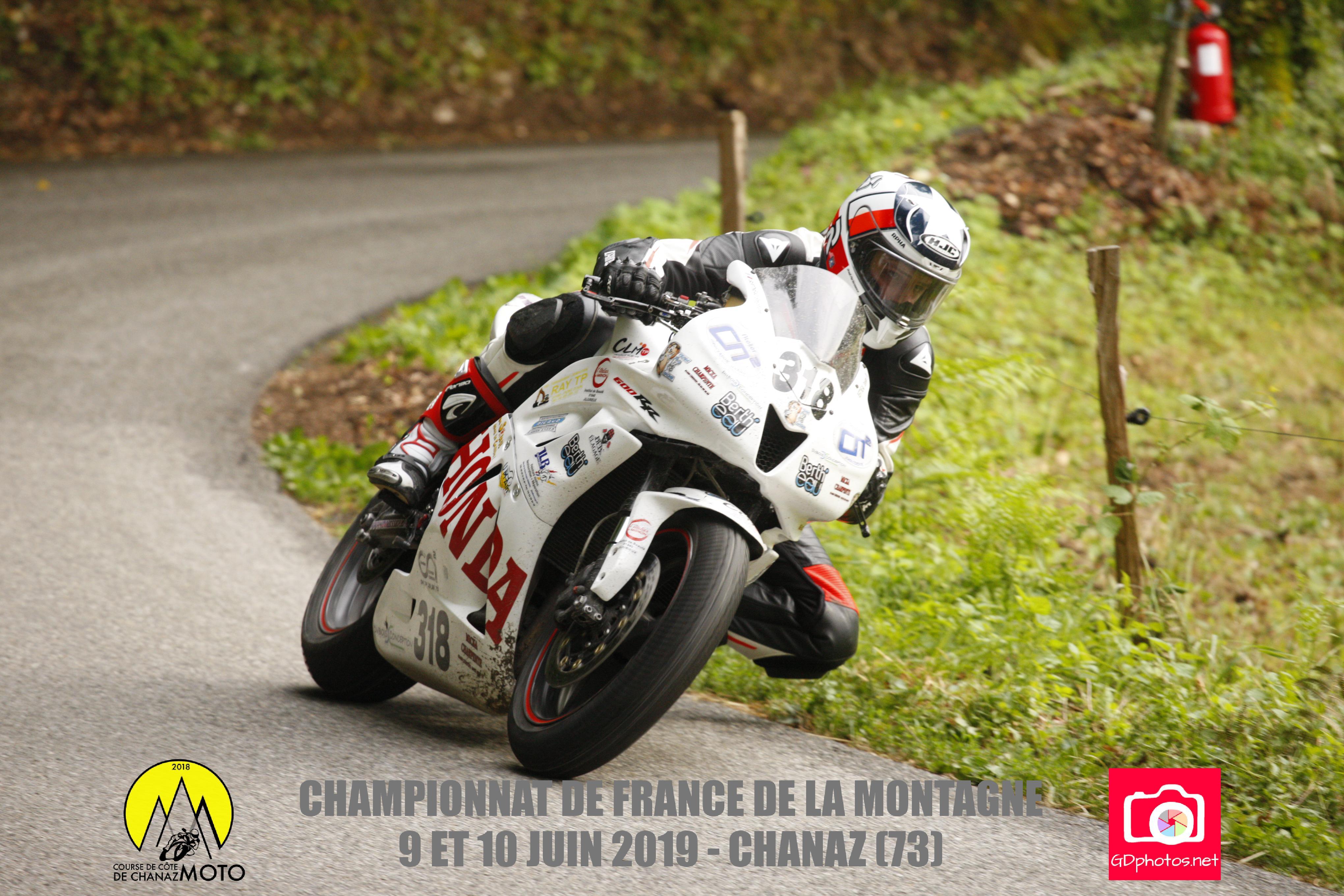 Team MB Racing, 48 <sup>e</sup>course de Chanaz, 2<sup>e</sup>manche du Championnat de France de la Montagne, 9 et 10 juin 2019