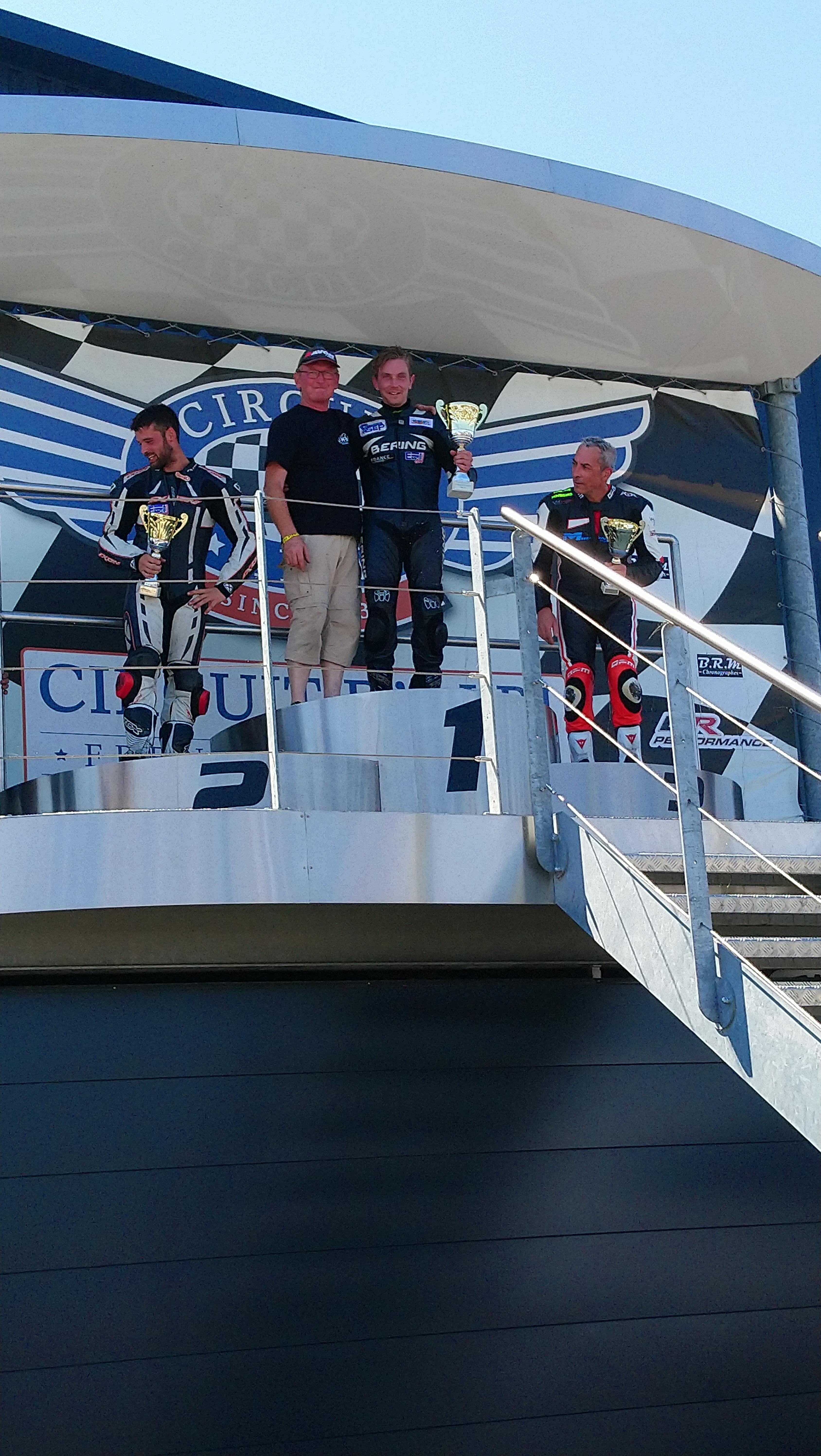 Louis PECHOUX, 5<sup>e</sup> manche du Championnat de France VMA Superbike à ALBI, 13 et 14 juillet 2019