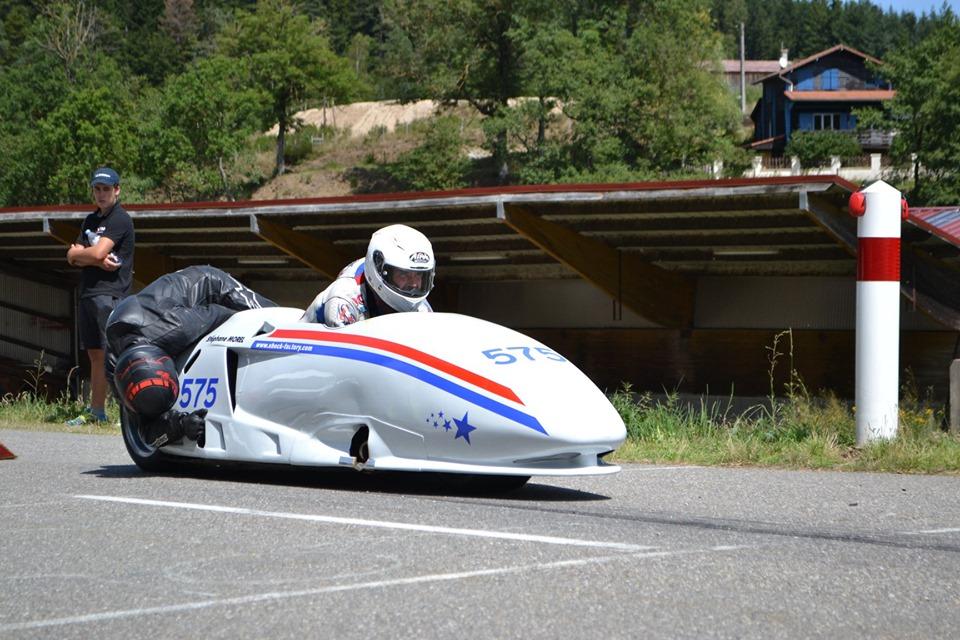 Team Side Car # 575, course de côte de Marlhes, 17 et 18 Août 2019