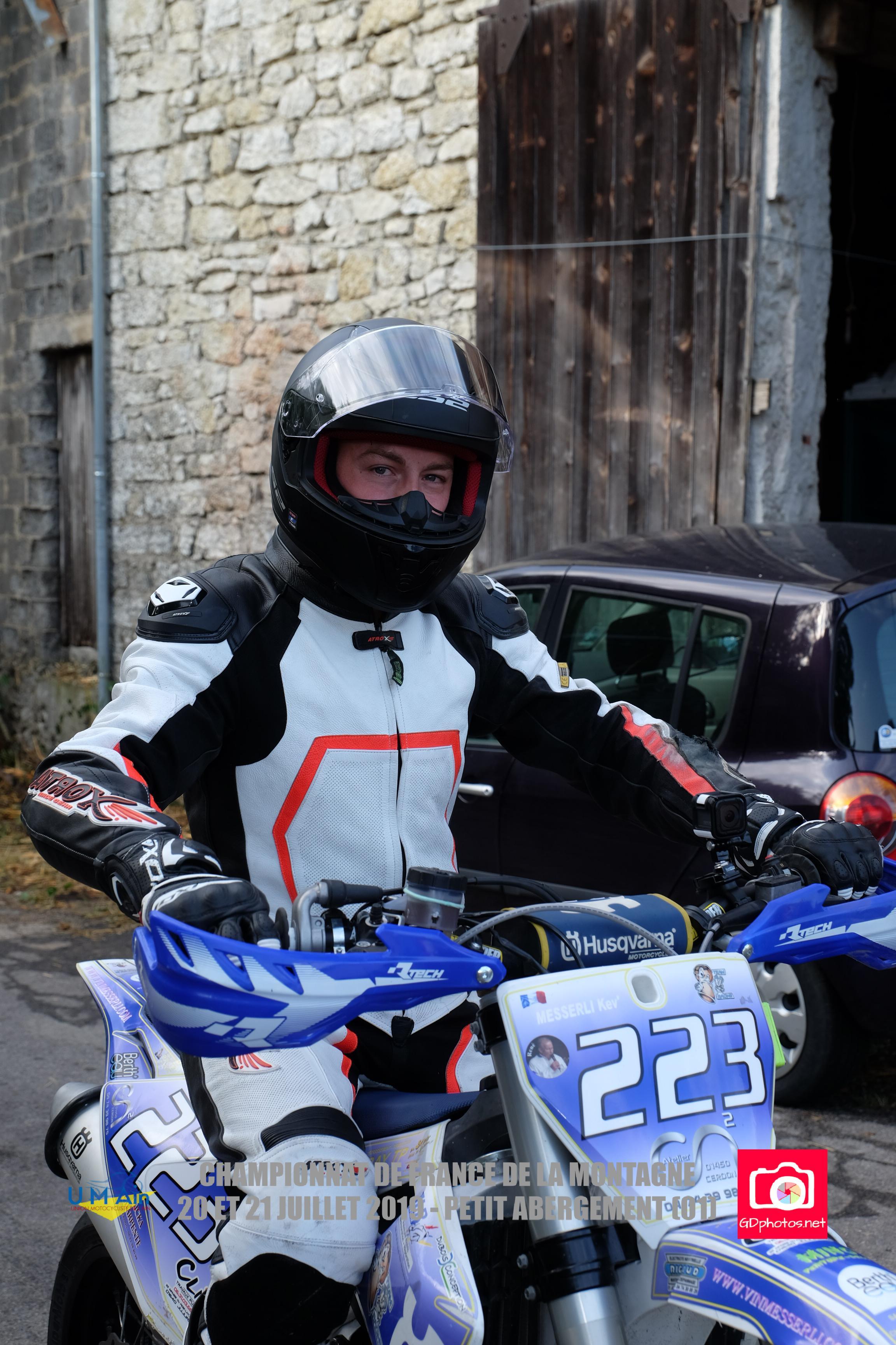 Team MB Racing,  Retour tardif sur la 7ème et dernière épreuve du championnat de France de la montagne, 31 août et 1er sept 2019