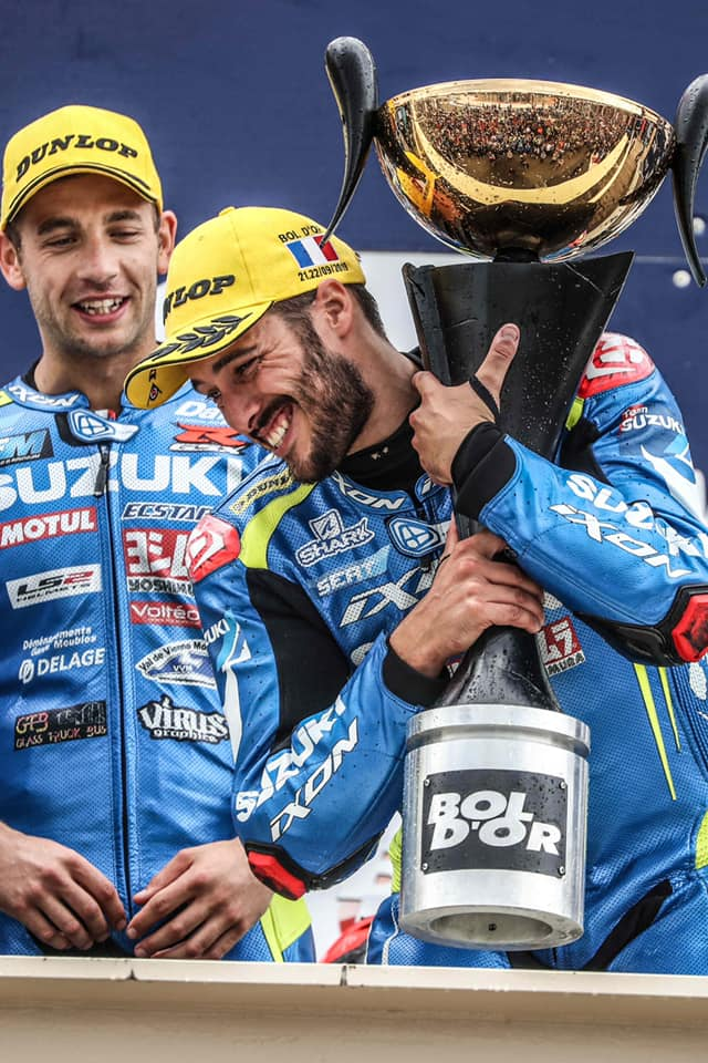 Etienne MASSON, SERT Suzuki Officiel, Bol d'Or 2019 : victoire,  Circuit Paul Ricard, 21 et 22 septembre