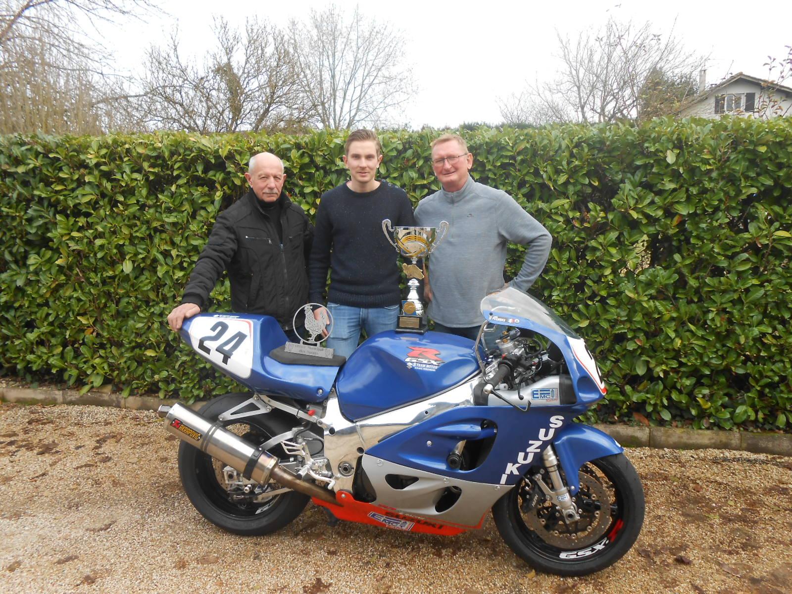 Louis PECHOUX : Championnat Vitesse Motos Anciennes