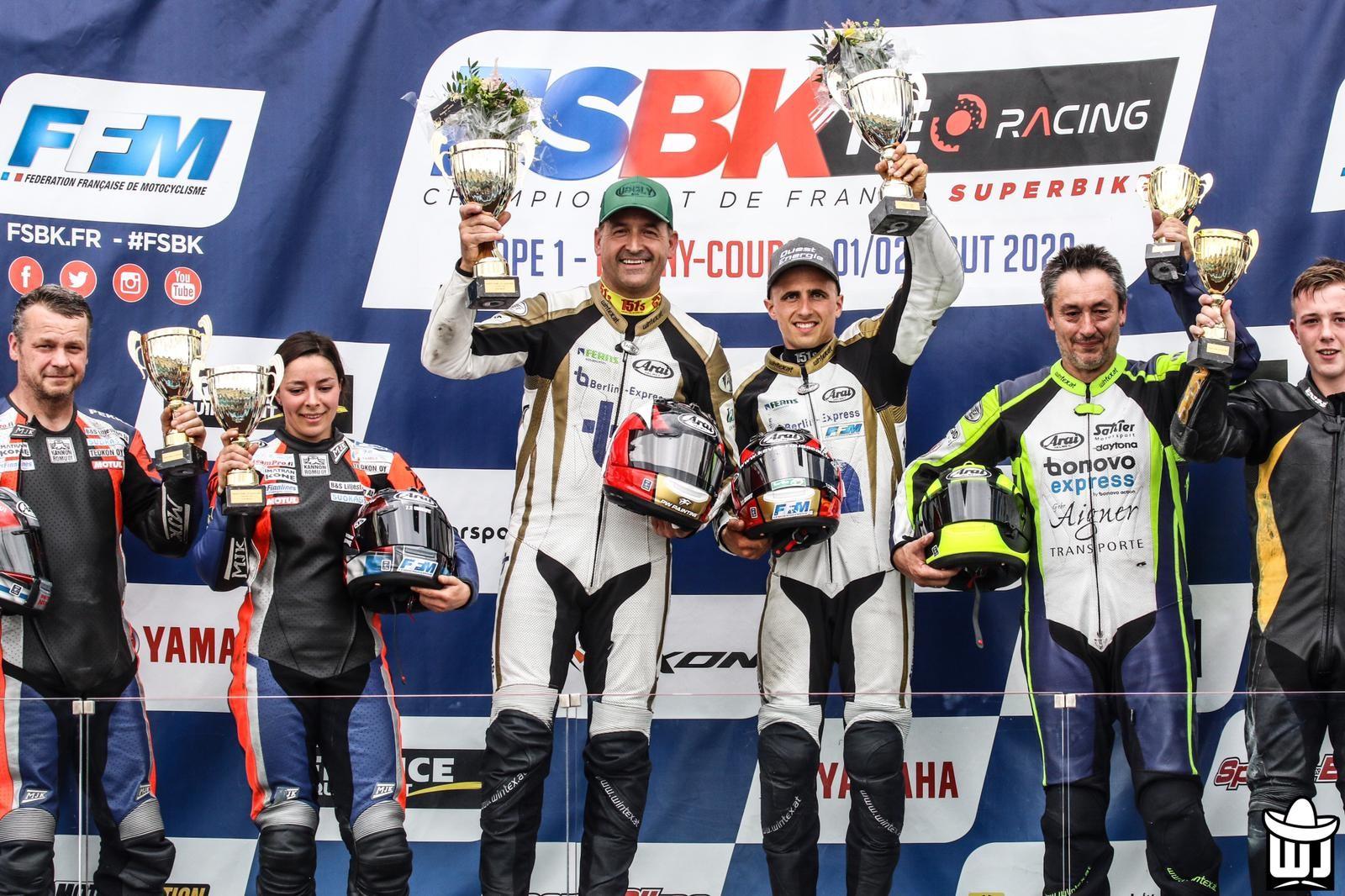 Side-car à MAGNY-COURS, 1ère manche du championnat de France Superbike, les 1 et 2 Août 2020