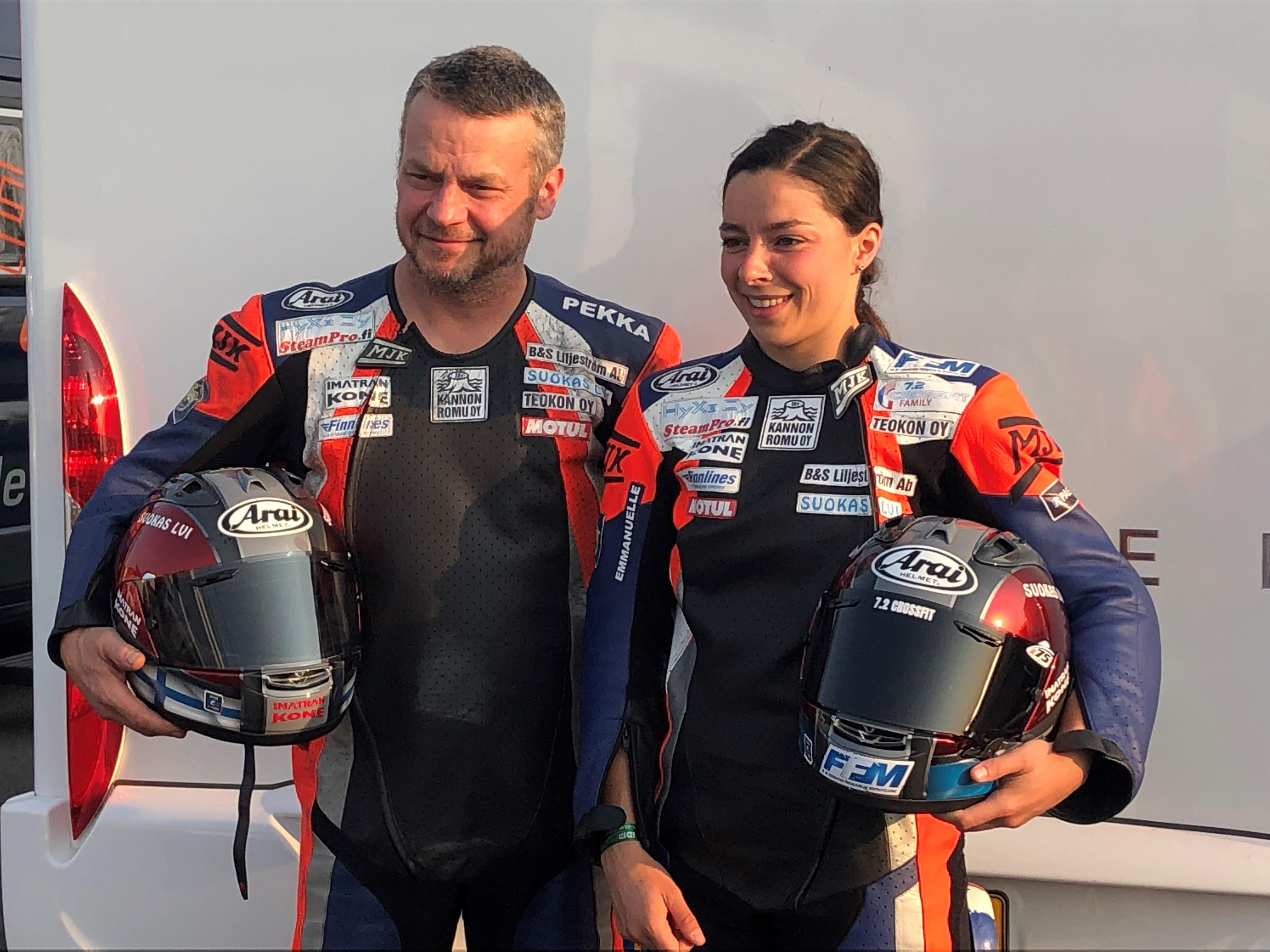 Championnat FSBK Allemand à Lausitzring, 12 et 13 Septembre 2020, Emmanuelle CLEMENT