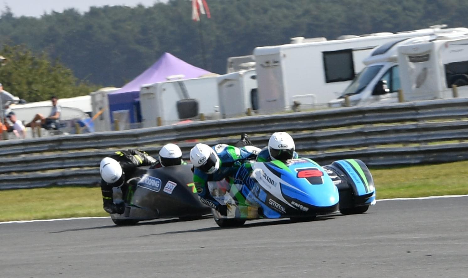 Emmanuelle CLement, Superbike Anglais BSB, 4 et 5 septembre 2021